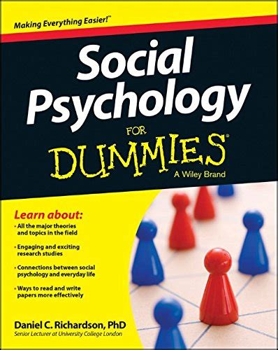 social psychology the science of everyday books social psychology for dummies books pics new