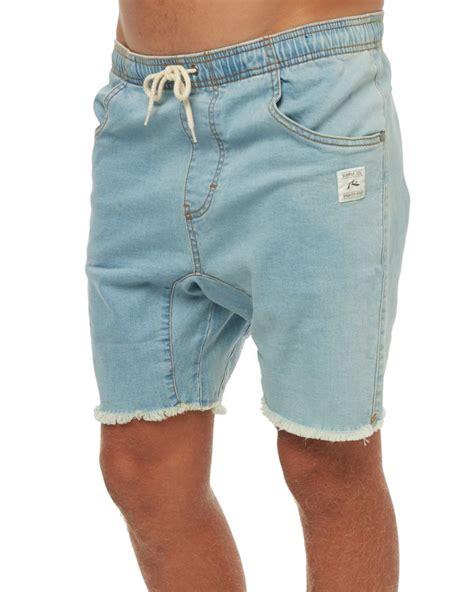 baller short guys new rusty men s baller mens denim elastic short cotton