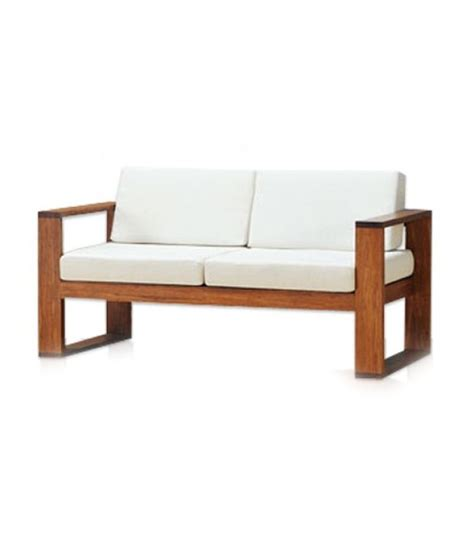 Simple Wooden Sofa by Furny Simple Wooden Sofa Buy Furny Simple Wooden Sofa