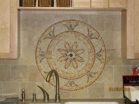 kitchen backsplash medallion floor value bartz construction llc ceramic stone