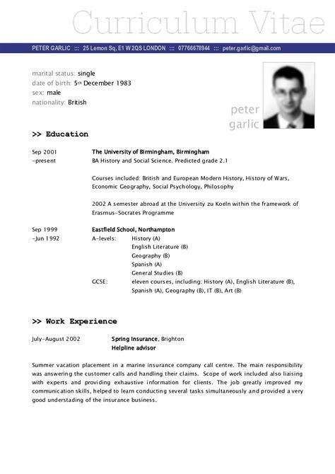 undergraduate resume template word sample cover lettermat pdf
