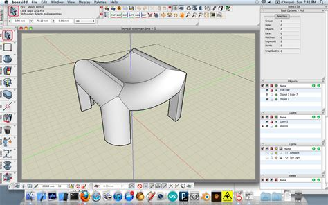 sketchup layout object snap bonzai 3d as replacement for sketchup my plastic future