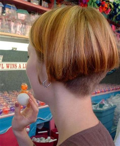 short stacked haircut so fun michele busch the ear stacked hair 17 best images about hair on