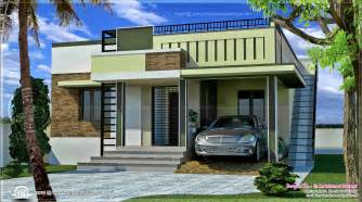 Small Home Design One Floor 110 Square Meter Small Single Floor Home Kerala Home
