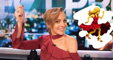Carrie Bickmore Wardrobe by Carrie Bickmore Channels The Emoji In Stunning Dress Who Magazine