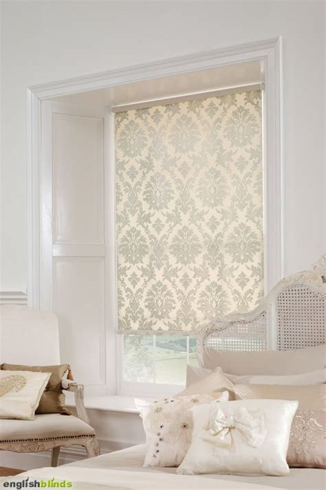 white bedroom blinds luxury cream damask blinds in a white bedroom with a shabby chic bed fabric ℳαℊїḉ drapes