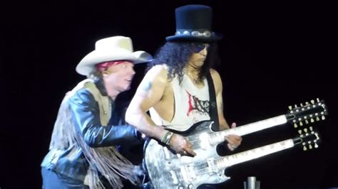 Channeling Axl by Slash And Axl An Awkward Moment On Stage This