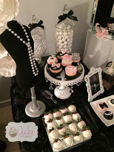 Chanel Inspired  Ee  Birthday Ee   Party  Ee  Birthday Ee   Party  Ee  Ideas Ee   Themes