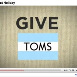 Toms Shoes Giveaway - notcot org