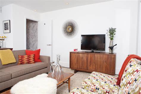 modern rustic living room modern rustic living room midcentury living room san