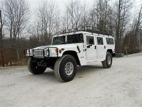 purchase used 1995 h1 hummer wagon diesel 4x4 humvee