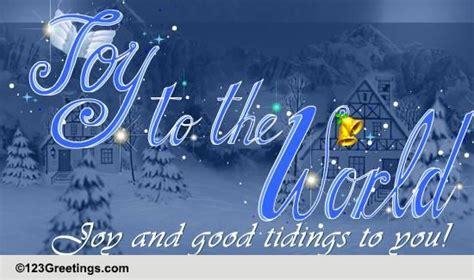 joy  good tidings  christmas  religious blessings ecards