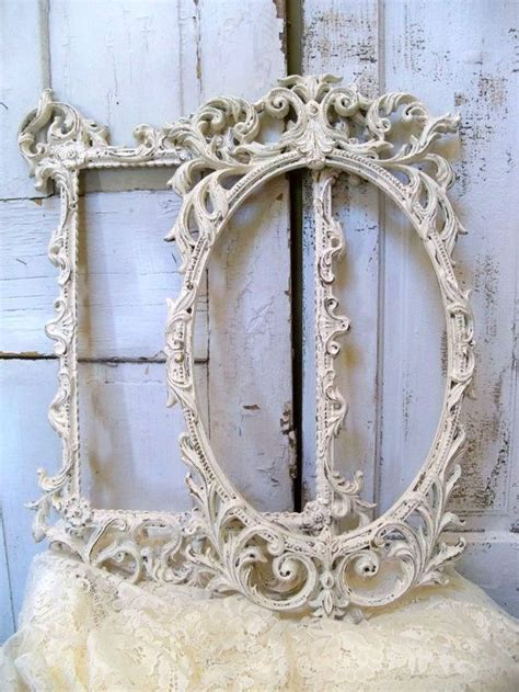 Shabby Chic Country 3722 by Vintage Ornate Frames White Shabby Cottage By