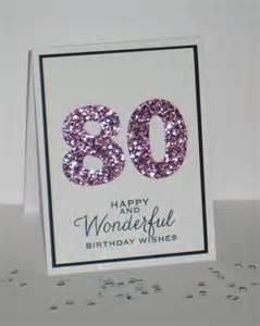 80th Birthday Card 80th Birthday Card Any Age Milestone Birthday Custom