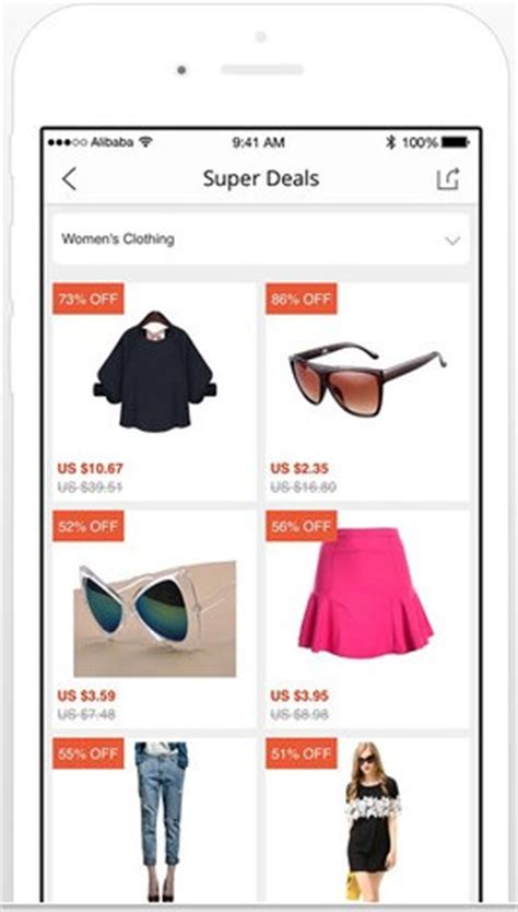 aliexpress mobile app top 10 ecommerce mobile apps based on functionality user