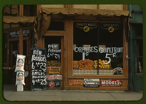 grocery stores lincoln ne 1940 s kodachrome 20 prospect