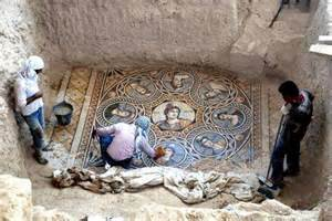 Floor And Decor Georgia Stunning 2200 Year Old Mosaics Discovered In Ancient Greek