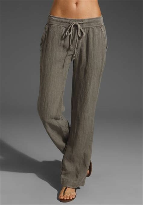 Sweat Pant Hm Summer summer linen in gray greystone lyst