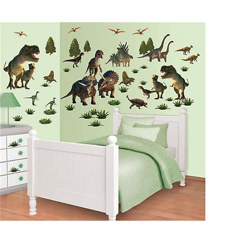 Wandtattoo Kinderzimmer Dinosaurier by Wandsticker Dinosaurier Walltastic Mytoys