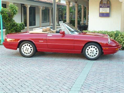 1993 Alfa Romeo Spider For Sale by Classic Italian Cars For Sale 187 Archive 187 1993 Alfa
