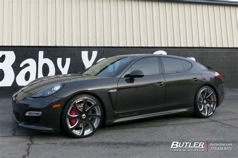 porsche forgiato porsche panamera with 22in forgiato fondare ecl wheels
