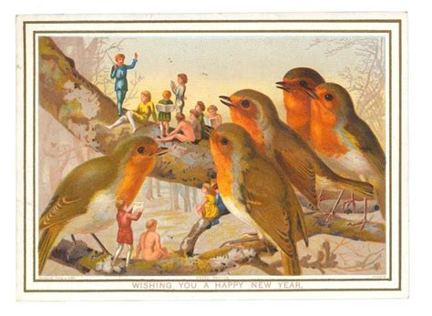 free vintage happy new year greeting cards elves with 333 best greeting cards images on