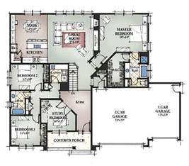 Housing Blueprints Floor Plans by Custom Home Plans Greenmark Builders