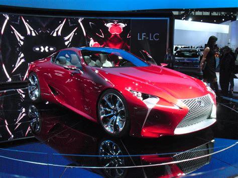 lexus lf lc black concept cars a design engine analysis chicago autoshow