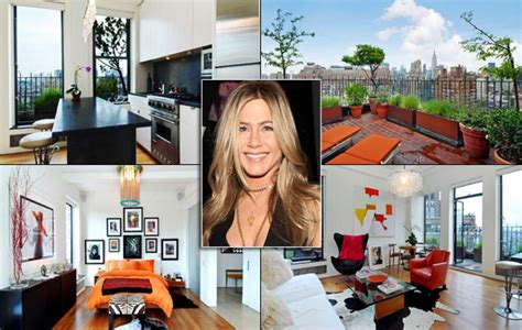 inside celebrity homes jennifer aniston photos inside celebrity homes ny