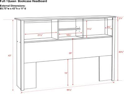 Plans For Bookcase Headboard King Size Furnitureplans