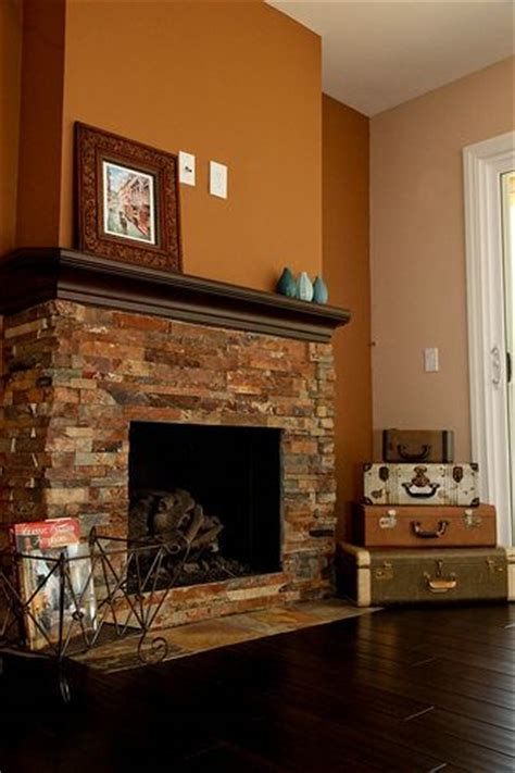 Change Color Of Brick Fireplace by Fireplace Remodel 17 Lake Forest Home Remodel