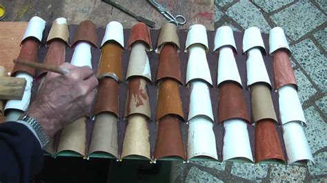 How To Make A Paper Roof - roof tiles