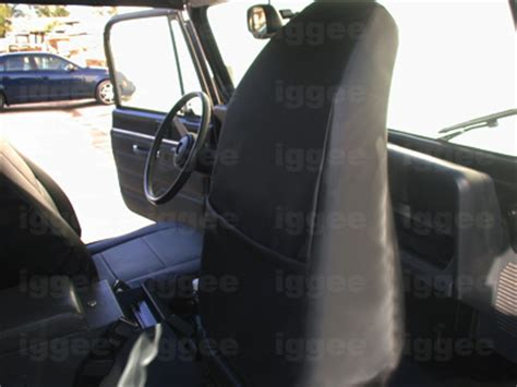 1992 jeep wrangler seat covers jeep wrangler yj 1992 1996 leather like custom seat cover