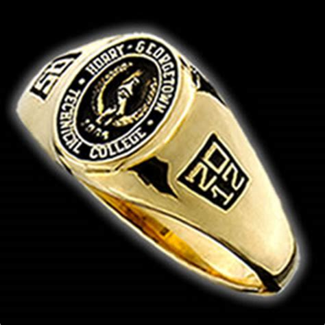 college rings for horry georgetown technical college by