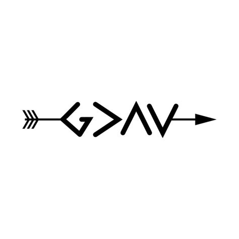 god is greater than the highs and lows tattoo god is greater than the highs and lows arrow christian