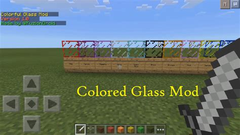 colored glass minecraft colored glass mod