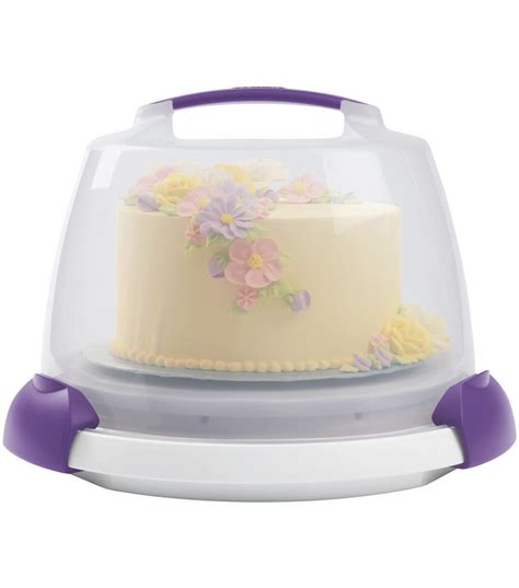 Cake Decorating Caddy by Wilton Decorate Smart Ultimate Trim N Turn Cake Caddy Jo