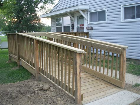 wheelchair ramps engineers  community service