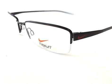 nike flexon eyeglass frame rimless nk 4222 mens eyewear