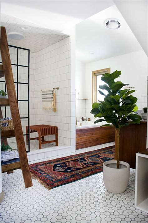 Vintage Modern Bathroom Design by 20 Chic And Minimalist Boho Bathroom Design Ideas Home