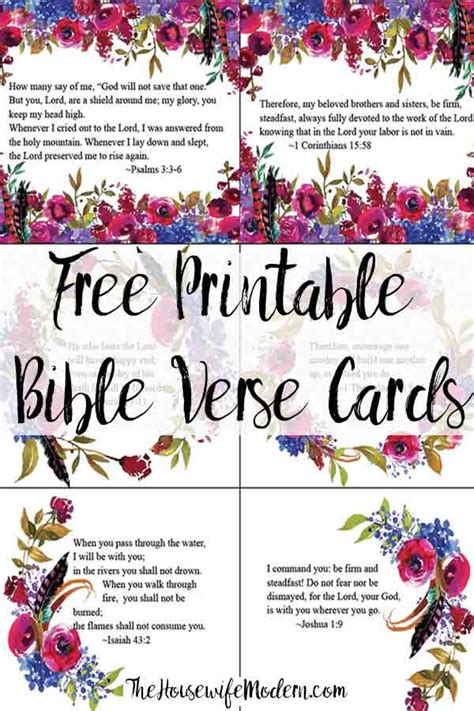 Pretty Scripture Memory Card Templates by Free Printable Bible Verse Cards For When You Need