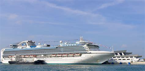 princess cruises singapore princess cruises begin homeporting season from singapore