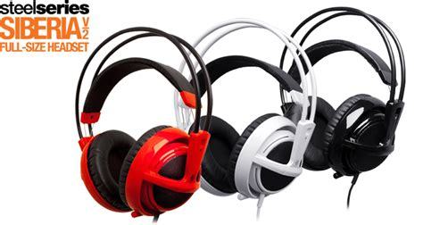 Headset Gaming Siberia V2 steelseries siberia v2 gaming headset review eteknix