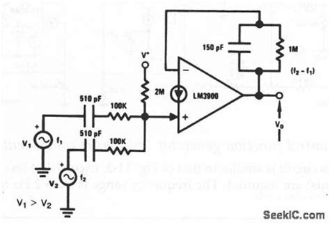 frequency mixer circuit diagram wiring diagram and