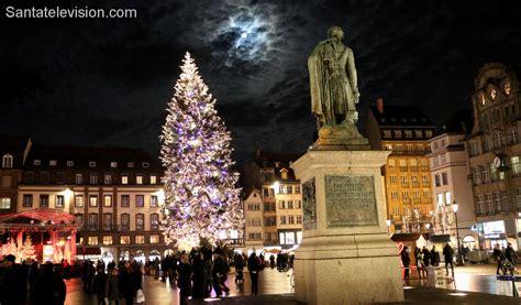 foto weihnachtsbaum auf dem kl 233 ber platz in stra 223 burg