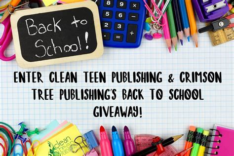 Back To School Clothes Giveaway - august back to school giveaway up to 150 in prizes clean teen publishing