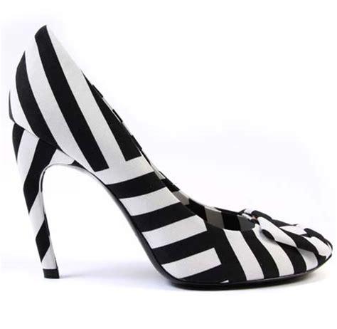 Georgina Navy Lower Heel by Summer 2011 Trend Stripes