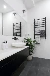 Black And White Bathroom Tile Ideas the 25 best black white bathrooms ideas on pinterest