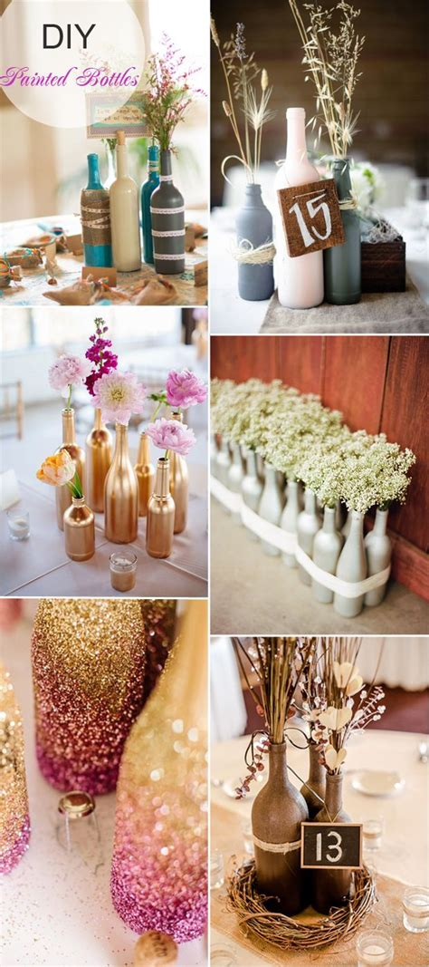 Handmade Wedding Centerpiece Ideas - cheap and easy wedding decorations 17 best ideas