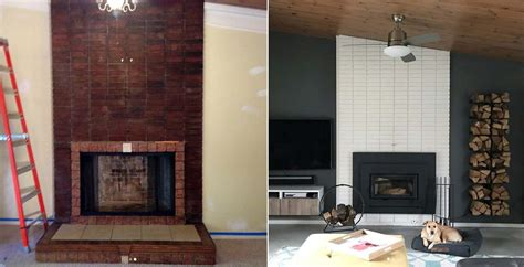 ideas makeover 10 fireplace makeover ideas before and after